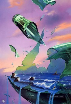 Popular Fantasy Painting - broken bottle Fantasy