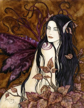 dark faery Fantasy Oil Paintings