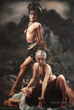 nudes Fantasy Oil Paintings