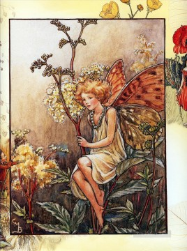 Meadow Art - queen of the meadow fairy Fantasy
