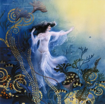 the water sprite Fantasy Oil Paintings