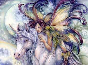 Dream Painting - unicorn take time for the dreamer in you Fantasy