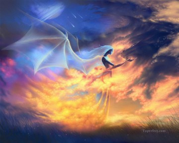 Popular Fantasy Painting - fa200nD fantastic photographic modern Fantasy