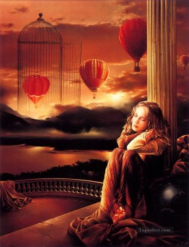 Dream Painting - JPA Sun Caged Dreams Fantasy