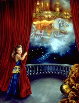 Dream Painting - JPA The Carousel of Dreams Fantasy