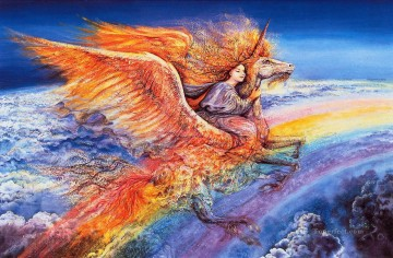 JW Flight to Aquarius Fantasy Oil Paintings