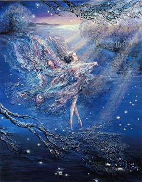 JW fairies where moonbeams fall Fantasy Decor Art