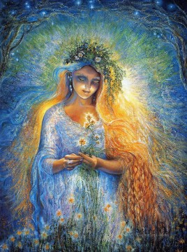 JW goddesses lady galadriel Fantasy Oil Paintings