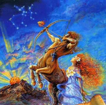 JW sagittarius Fantasy Oil Paintings