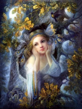Artworks in 150 Subjects Painting - Magic forest Fantasy