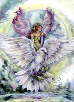 Dream Painting - dream love believe bird Fantasy