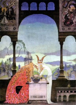 Popular Fantasy Painting - kay nielsen norwegian the three princesses of the white island Fantasy