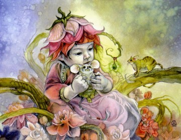 november Deco Art - november blossoms in spring Fantasy