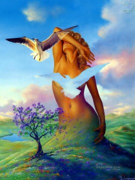 Popular Fantasy Painting - nude of land Fantasy