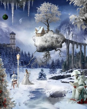 Popular Fantasy Painting - fa057nD13 fantastic photographic modern Fantasy