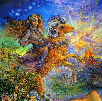 JW aries Fantasy Oil Paintings