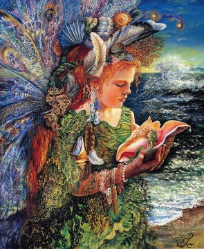 JW fairies beachcomber fairy Fantasy Oil Paintings