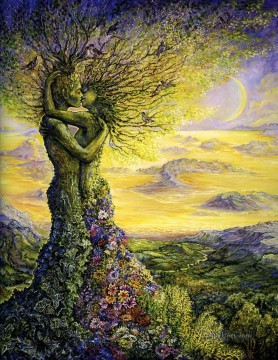 Nature Painting - JW natures embrace Fantasy