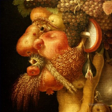 Fruit Painting - fruits man Giuseppe Arcimboldo Fantasy
