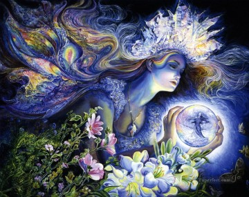 JW goddesses princess of light Fantasy Oil Paintings