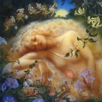 Dream Painting - a midsummer nights dream Fantasy