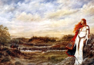 Dream Painting - luis royo dreams the wind from hastings Fantasy