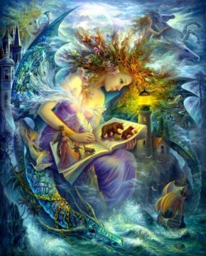 Artworks in 150 Subjects Painting - Fairy book Fantasy