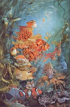 Fantasies of the Sea Fantasy Oil Paintings