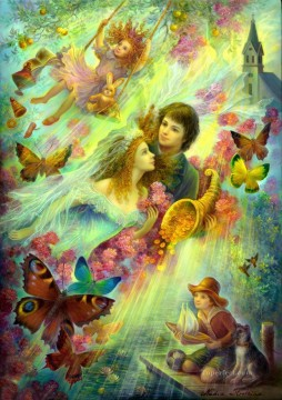 Artworks in 150 Subjects Painting - Happy together Fantasy