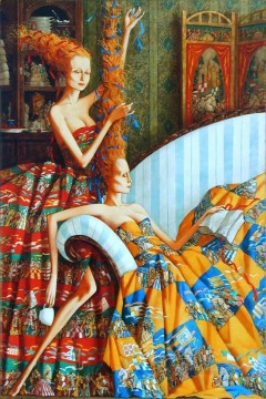 Artworks in 150 Subjects Painting - Haute Coiffure Fantasy