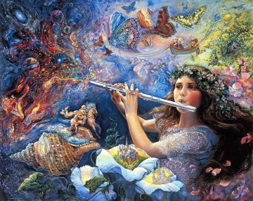 Artworks in 150 Subjects Painting - JW enchanted flute Fantasy