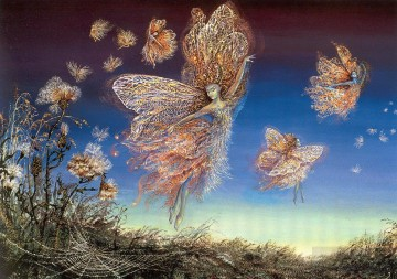 Artworks in 150 Subjects Painting - JW fairies gossamer and thistledown Fantasy