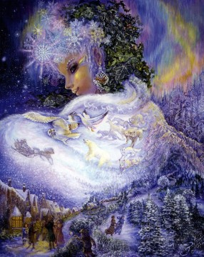 Popular Fantasy Painting - JW goddesses snow queen Fantasy