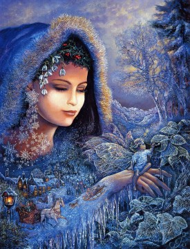 Artworks in 150 Subjects Painting - JW goddesses spirit of winter Fantasy