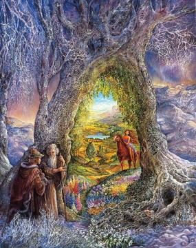 JW portal to paradise Fantasy Oil Paintings