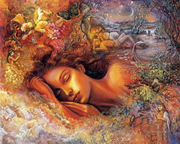 Artworks in 150 Subjects Painting - JW psyches dream Fantasy