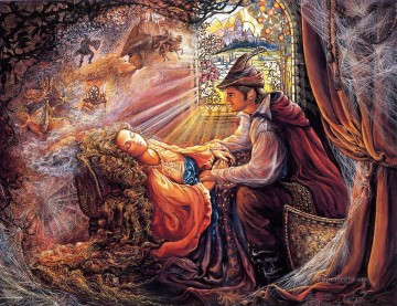 Artworks in 150 Subjects Painting - JW sleeping beauty Fantasy