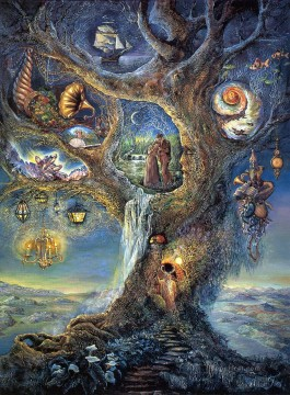 Artworks in 150 Subjects Painting - JW tree of wonders Fantasy