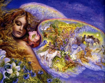 Popular Fantasy Painting - JW wings of love Fantasy