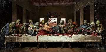 Artworks in 150 Subjects Painting - Last Supper 13 Fantasy