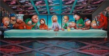 last supper Painting - Last Supper 23 Fantasy