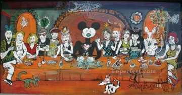 Artworks in 150 Subjects Painting - Last Supper cartoon Fantasy