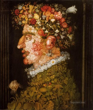 Spring 2 Giuseppe Arcimboldo Fantasy Oil Paintings