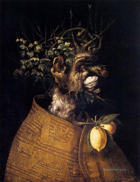 Artworks in 150 Subjects Painting - Winter 2 Giuseppe Arcimboldo Fantasy