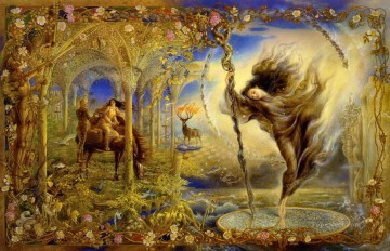 Artworks in 150 Subjects Painting - fantasy alphabet of thorn
