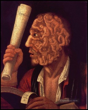 adam Painting - portrait of adam 1578 Giuseppe Arcimboldo Fantasy
