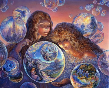 JW bubble world Fantasy Oil Paintings