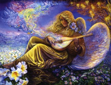 Surrealism Painting - JW fantasy surrealism angel melodies