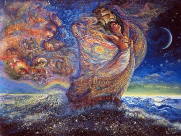 JW ocean of dreams Fantasy Oil Paintings