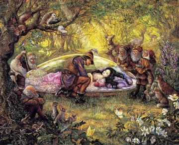 JW snow white Fantasy Oil Paintings